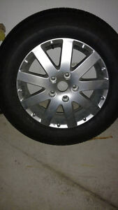 2014 town and country rims and tires 17 inch Windsor Region Ontario image 1