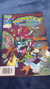 Monster in my Pocket comic book
