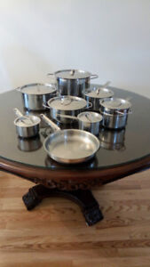 16 Piece Paderno Stainless Steel Cookware