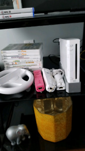 Wii & games Newly reduced to $60!!
