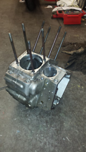 Aftermarket evo engine cases big bore/and other parts