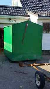 Collapsable ice fishing shack and trailer Kitchener / Waterloo Kitchener Area image 2