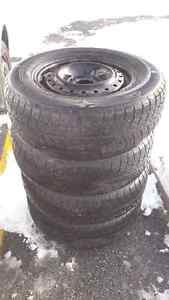 Great Condition Winter Tires for Sale - 205/70R15 96T - ON RIMS