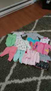 0 - 3 months baby clothing