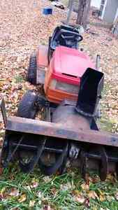 Snowblower and garden tractor for sale