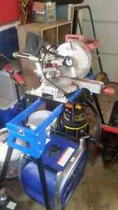 Chicago Electric 10inch mitre saw with stand