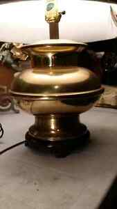 Solid brass lamp no shade Cambridge Kitchener Area image 3
