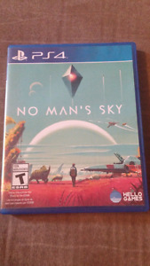 No man's sky for ps4 $45 mint