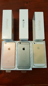 iphone 5s iphone 6 iPhone 6s UNLOCKED from $249