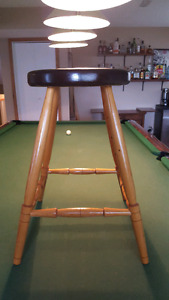 Handcrafted Stool * Counter Height