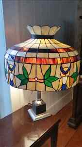 Beautiful stained glass hanging light Cambridge Kitchener Area image 1