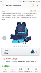 Yodo Baby Backpack Great deal