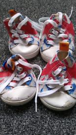 Build a Bear canvas shoes