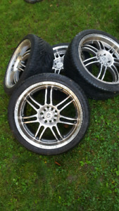 18x7.5 core racing rims