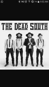 2 tickets to the dead south Dec 15th