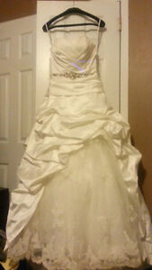 Wedding dress need dry cleaning sold as is