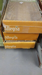 Allegria 10mm Laminate Flooring w/ underlay - 53 sq ft for $60