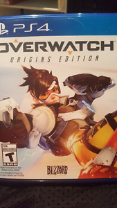 OVERWATCH PS4 SALE OR TRADE