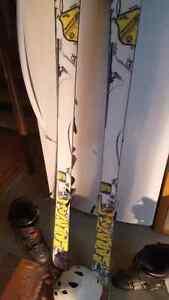 Ski rossignol pro scratch & equipements