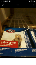 Trixie Cat /Pet Window Grill - side grills x 4