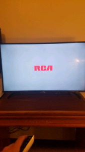 "2016 model 40"" RCA LED Smart TV with remote"