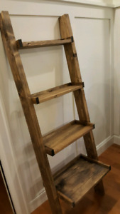 Farmhouse Shelf Ladder
