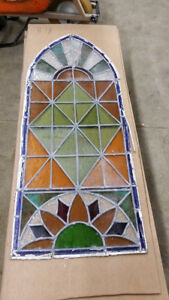 50+ Pieces of Church Stained Glass 1904