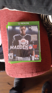 Madden 18 xbox one