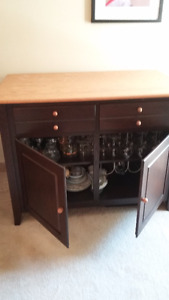All Wood Dining Suite