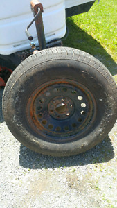 17 inch spare tire 6 bolt for a gmc or chev
