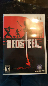 Wii redsteel video game