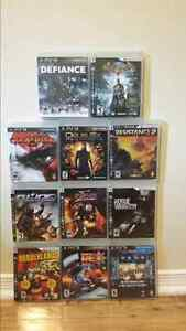 Bundle of 11 PS3 games  West Island Greater Montréal image 1