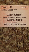 *CLOSE FLOOR SEATS!!* - 3 Tickets Janet Jackson