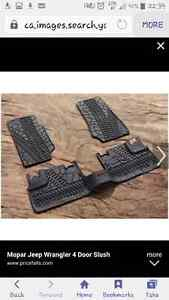Jeep floor mats for jk 4 dr London Ontario image 1