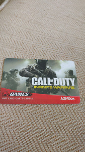 EB games giftcard