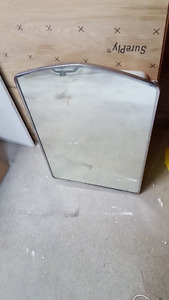 Vintage 1950's built in mirrored medicine cabinet