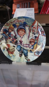 Collector Plates 3 by Norman Rockwell - 2 by S. Sherwood