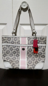 Grey and Pink Couch Purse