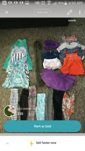 Girls size 3t clothing lot