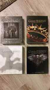 Game of Thrones Blu-Ray Seasons 1, 2, 3, 4 Kitchener / Waterloo Kitchener Area image 1