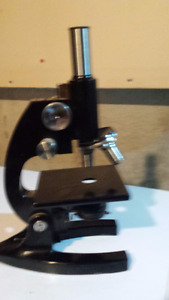 Busch and Lomb Microscope 1960's