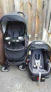 Graco click and connect travel system