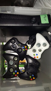 XBox 360 + 4 controllers +