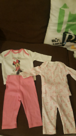Up to one month size Minnie mouse sets