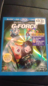 G-Force Blu ray