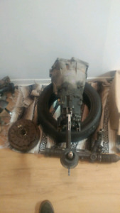 Bmw e46 Transmission manuel,clutch fly wheel etc