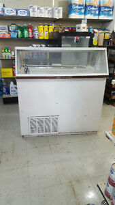 Just in time for the warm weather! 4ft Scoop Ice Cream Freezer