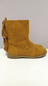 Faux Suede Boots, Toddler Girl, Size 9, Old Navy