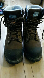 Steel-Toed work boots