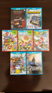 Wii U games and Gamecube controller